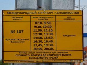 ウラジオストク空港⇔ウラジオストク市内までの交通事情3