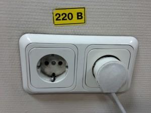 ウラジオストクの電圧、プラグ2