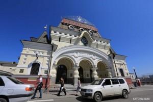 11)ウラジオストク鉄道駅