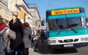 ウラジオストクのバスの乗り方