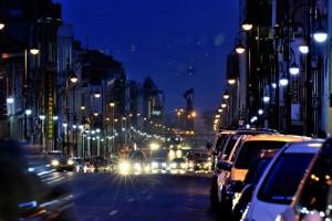 夜景と夜の街並み7